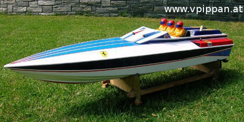 vpippan.at | Modellbau: RC-Modelle - Boote - Graupner Arrow